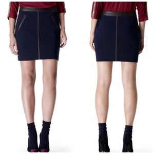 NWT Club Monaco Stacey Knit Skirt